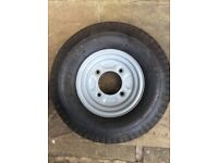 Trailer spare wheel and tyre 4.80 x 4.00-8