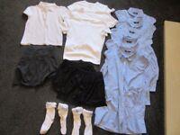 Bundle of girls school uniform and 5-6 / 6-7