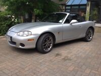 2004 Mazda MX5 Euphonic Limited Edition 1.8 with hard top