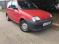 2001 Fiat Seicento 1.1 18000 miles only