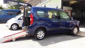 2011 Fiat Doblo MultiJet Eleganza Wheelchair Disabled Accessible Vehicle