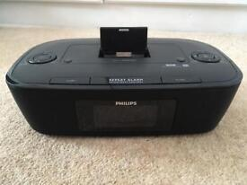 Philips docking station/stereo system