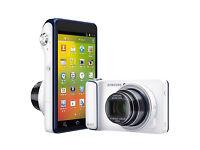 "Samsung Galaxy EK-GC100 Camera Wi-Fi White 4.8"" |16.3MP 21x Zoom Great Condition rrp 400 £"