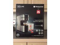 Hotpoint Illy cm hpc gx0 Espresso Machine - Brand new