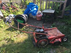 Old style Lawnmower