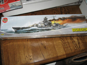 Airfix Bismark Battleship 1/600 Model Kit