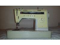 Singer 514zig-zag semi-industrial portable electric sewing machine