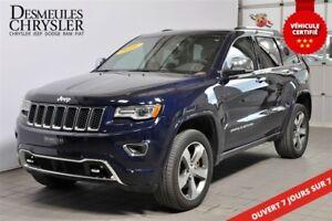 2016 Jeep Grand Cherokee OVERLAND**DIÉSEL**TOIT PANO**