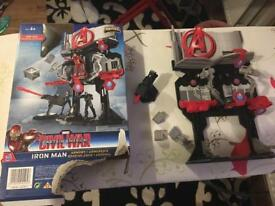 Completed toy capitan america civil war played just once can post