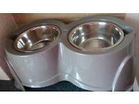 raised dog bowls