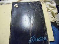 Morris Marina - Workshop manual. Official British Leyland. 1976.