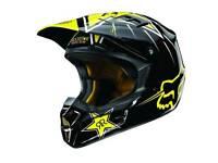 FOX V1 Rockstar motocross helmet