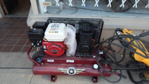 brand new gas compressor at the 689r new and used tool store