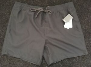 NEW with Tags - Men's XL Grey Swim Shorts