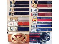 Men's designer belts - £15 Versace   Hermes   Armani   Moschino   Gucci