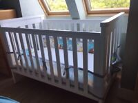 Boori Country Collection Cot and Mattress