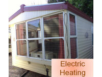 Static Caravan Atlas Debonair Super 36 x 12 ft / 3 Bedrooms, Electric Heating