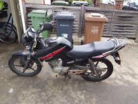Yamaha YBR 125 2012 **Collection only**