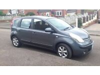 Nisan Note 2006 with full service history, low mileage 34,000