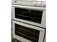 WHIRLPOOL,WHITE,ELECTRIC BUILT UNDER DOUBLE OVEN. FULLY REFURBISHED,IMMACULATE.