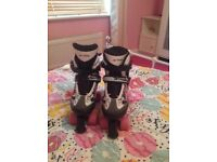 Girls roller skates never been worn, excellent condition, size 4 but do come up quite small.