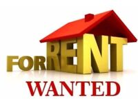Wanted 3 Bedroom house, with reception room. ASAP! Long Term