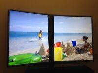 Faulty Samsung 49 inch Ultra Slim Curved LED Smart TV with wifi, Miracast & Freeview HD