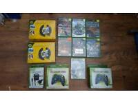 xbox original games and accessories