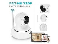 ip cctv camera memory card iphone/android 720p HD wifi camera aerial can be moved via phone!