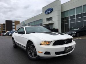 2010 Ford Mustang V6   CONVERTIBLE, CUIR, SHAKER AUDIO