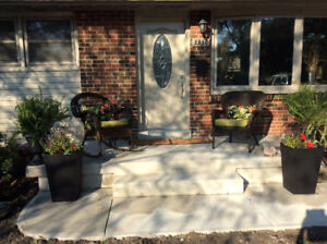 Furnished basement apartment near St. Clair College