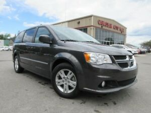 2016 Dodge Grand Caravan CREW+, NAV, BT, HTD. SEATS, 25K!