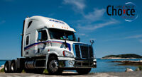 Hiring Class 1 Long Haul Drivers.  New Pay Package!