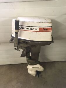 20hp. Johnson for parts