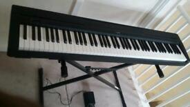 Yamaha Piano Keyboard with Stand - Good working condition