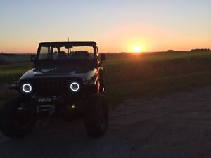 1998 jeep tj Sahara