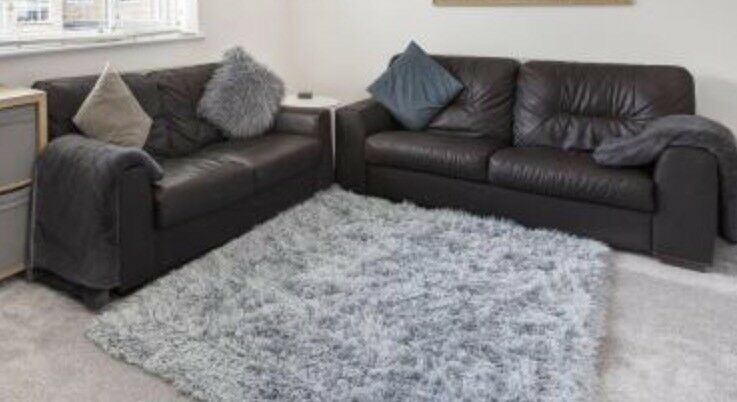 Phenomenal 2X Aston Chocolate 3 Seater Leather Sofas Argos 12 Month Download Free Architecture Designs Terstmadebymaigaardcom