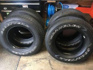 """Goodyear Wrangler Tires """"NEW"""""""