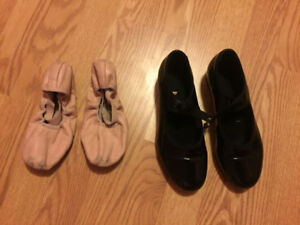 Bloch Ballet and Tap Shoes
