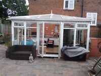 USED CONSERVATORY, EXCELLENT CONDITION, EVERY THING INCLUDED