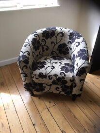 Upholstered Tub Chair for Living Room