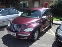 For sale PT cruiser with number plate to match