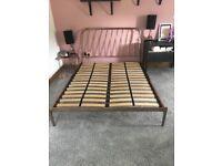 King size Bed - Copper Frame - Made Alana Kingsize model.