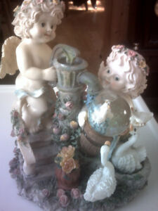 FOR THE ANGEL COLLECTOR-- MUSICAL CHERUBS
