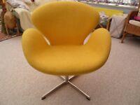 Retro yellow chair