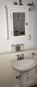 Matching Medicine cabinets and Sinks
