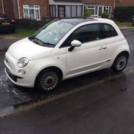 Fiat 500 Lounge 1242cc. Cat D fully repaired in 2013. No issues ever!!! Bargain!!