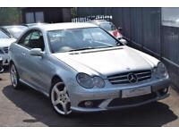 2008 Mercedes-Benz CLK CLK220 Coupe 2.2CDi 150 Sport Auto5 Diesel silver Automat