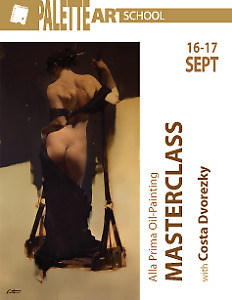 Weekend 2 day Materclass with Costa Dvorezky (nude model)