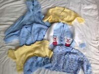 Hand knitted cardigans